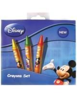 Mickey علبة ألوان شمع 8 لون