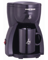 1 Cup Coffee Maker DCM 15 - Black & Decker