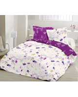 Duvet cover Country style Dark mauve - Comfort