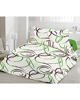 Printed bed set Dizzy design - Comfort
