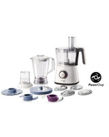 Viva Collection Food Processor HR7761/00 750W Compact 3 in 1 - Philips