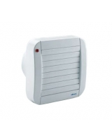 Wall & window automatic axial fans ECO100A - Elicent
