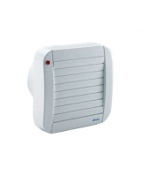 Wall & window automatic axial fans ECO120A - Elicent