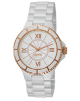 Isis Pure White Rosegold Watch EL101322S04 - Esprit Collection