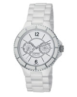 Isis Pure White Watch EL101322S01 - Esprit Collection