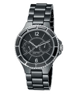 Iris Pure Black Watch EL101332S02 - Esprit Collection