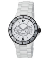 Iris Tetra White Watch EL101332S08 - Esprit Collection