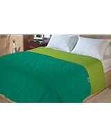 Double face summer fiber quilt Emerald x Tender Shoot - Comfort