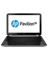 Pavilion 15-n250se F9U48EA Laptop AMD A4-5000M/ 4G/ 500G/ Dedicated 1 GB/ DOS/ Mineral Black - HP