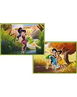 Fairies Puzzle 2 in1 35 Pieces + 60 Pieces - KS Games