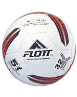 Hand sewn Semi-PU football White/Red FSO-0122 - Flott