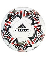 Machine sewn PVC football White/Red FSO-0141 - Flott