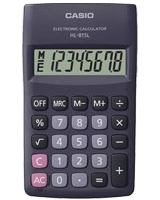 Black Handy Calculator HL-815L - Casio