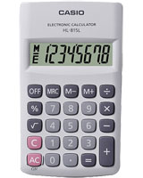 White Handy Calculator HL-815L - Casio