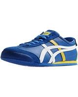 Mexico 66 Shoes Mid Blue/White - Onitsuka