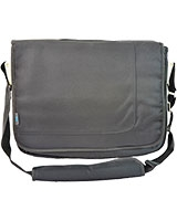 "Shoulder Laptop Bag with 4 Belts 15.6"" HY15 Black - HQ"