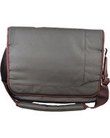 "Shoulder Laptop Bag with 4 Belts 15.6"" HY15 Brown - HQ"