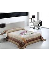 B Harmony 019 blanket size 220x240 Beige - Mora