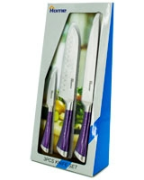 Set Knives Purple 154B-44 - Home
