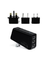 International Triple USB AC Charger Pack IAD217ITL - iLuv