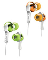 City Lights Explosive Bass In-Ear Headphones IEP322 - iLuv