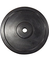 Rubber Coated Plates Black IR91016 - Iron Master