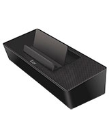 Modern Box Portable Speaker Stand for Smartphone ISP125BLK - iLuv