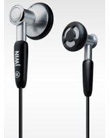 Stereo earphones with circular carrying case JHE16 - Jwin