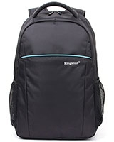 "Laptop Backpack 16.1"" Blue Stripe Series KS8337W - Kingsons"