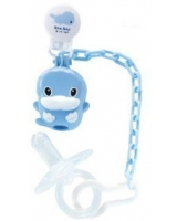 Pacifier Clip & Holder + Pacifier 6 Months up KU5333 - ku-ku