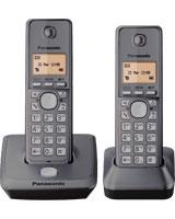Digital Cordless Phone with 2 Handsets KX-TG2712 - Panasonic
