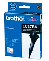 Ink Cartridge Black Pack of 2 LC37BK2PK - brother