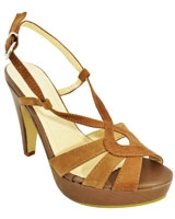 Heeled Sandal Brown 3578 - Mr.Joe