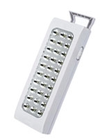 Rechargeable Emergency Light 30 LED MT-1130 - Media Tech
