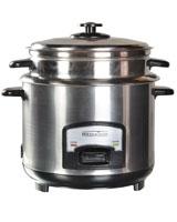 Rice Cooker Stainless Steel MT- BZ074 - Media Tech