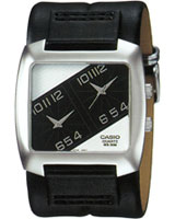 Analog-leather Watch MTF-102L-1AV - Casio