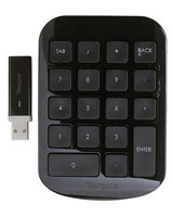 Wireless Numeric Keypad AKP11EU - Targus