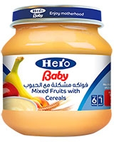 Mixed Fruits with Cereal - Hero Baby