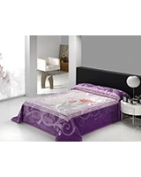 B Gold Deluxe 909 blanket size 220x240 Lilac - Mora