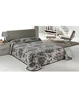 B Morapel Luxe 828 blanket size 220x240 Grey - Mora