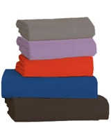 Fashion Flat bed sheet 144 TC size 180x270 - Comfort