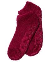 Burgundy Slipper Socks - Oriflame