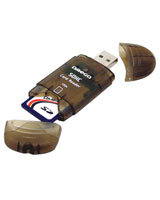 USB 2.0 Card Reader Stick for SDHC - Omega