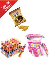 Dingo 20 gm & Baby Cola 24 Pieces & & Chewy 150 gm - Sima