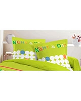 Printed pillowcase Night and Day design Tender Shoot - Comfort