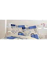 Pillowcase Retro Design Blue - Comfort