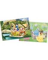 Princess Puzzle 2 in 1 - 35 Pieces + 60 Pieces - KS Games