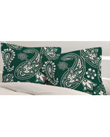 Pillowcase Andalusia design Deap teal - Comfort