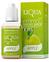 E-Cigarette Liquid Apple 30ml/6mg - Liqua