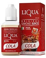 E-Cigarette Liquid Cola 30ml/6mg - Liqua